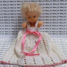 Muñecas Lesly y Barriguitas: FAMOSA ANTIGUA MUÑECA BARRIGUITAS VESTIDO BRAGUITAS. Lote 293953708