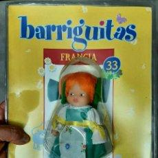Muñecas Lesly y Barriguitas: MUÑECA BARRIGUITAS FAMOSA COLECION MUNDO DE SALVAT FRANCIA 33 FASCICULO BLISTER SIN ABRIR. Lote 294494993