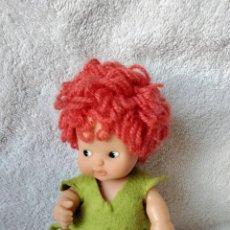 Muñecas Lesly y Barriguitas: BARRIGUITA PELO LANA HADA BOSQUE. Lote 297179168