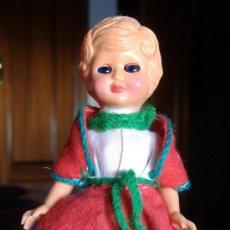 Muñecas Celuloide: MUÑECA CELULOIDE OJOS DURMIENTES VINTAGE 1970. Lote 26482155