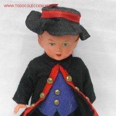 Muñecas Celuloide: MUÑECO CELULOIDE CON CUERDA ALEMAN GERMANY AÑOS 50. Lote 14092613