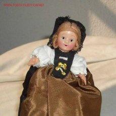 Muñecas Celuloide: MUÑECA MADE IN JAPAN,A CUERDA,FUNCIONANDO,AÑOS 50. Lote 25697490
