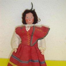 Muñecas Celuloide: MUÑECO ANTIGUO CARA DE CARTON PIEDRA. Lote 12038705