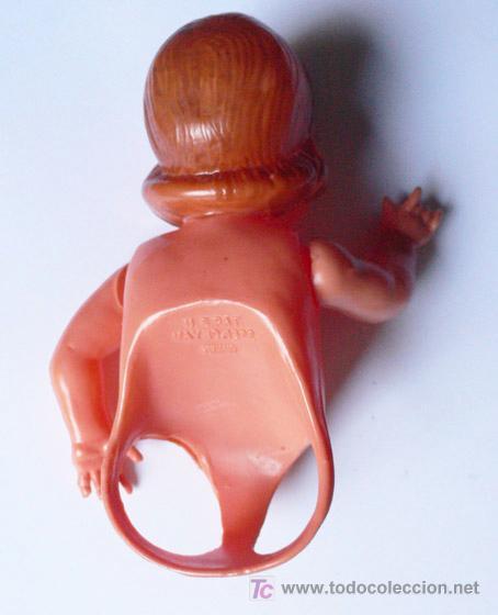 Muñecas Celuloide: Curiosa MUÑECA CELULOIDE ALEMANA -Se ponen los dedos para simular piernas. Ver detalles-Vell i Bell - Foto 3 - 26733537
