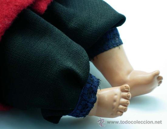 Muñecas Celuloide: Bebe celuloide la tortuga Alemania Schildkrot Puppe Germany años 20 30 30 cm alto - Foto 5 - 20780400