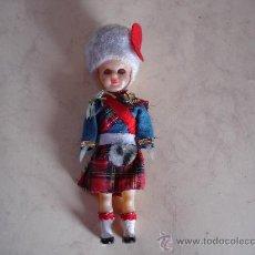 Muñecas Celuloide: GUARDIA ESCOCES - OJOS DURMIENTES - AÑOS 50 - 15 CM. APROX.. Lote 28769062