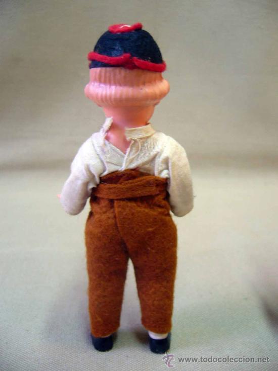 Muñecas Celuloide: PAREJA DE MUÑECAS REGIONALES, DE CELULOIDE, ALEMANIA, 1940s 14 cm. - Foto 7 - 29110974