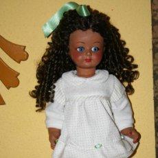 Muñecas Celuloide: ANTIGUA MUÑECA DE CELULOIDE NEGRITA O NEGRA. Lote 29731848