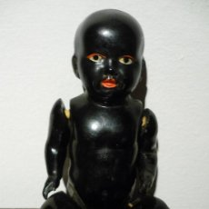 Muñecas Celuloide: MUÑECO NEGRITO DE CELULOIDE. SCHUTZ-MARQUE 15 GERMANY. AÑOS 30. Lote 31087345