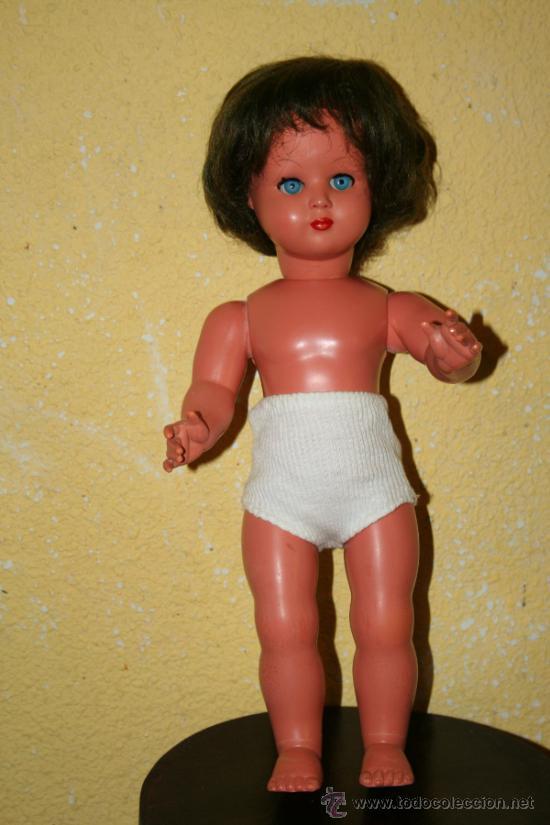 Muñecas Celuloide: antigua muñeca de celuloide marcada con una m - Foto 3 - 33335220