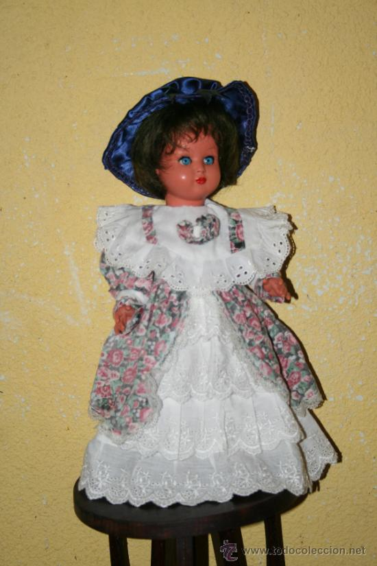Muñecas Celuloide: antigua muñeca de celuloide marcada con una m - Foto 2 - 33335220