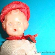 Muñecas Celuloide: MUÑECA DE CELULOIDE , ARTICULADA CON OJOS DURMIENTES. Lote 33943390