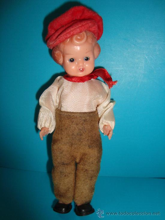 Muñecas Celuloide: Muñeca de celuloide , articulada con ojos durmientes - Foto 2 - 33943390