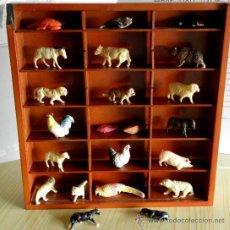 Muñecas Celuloide: FIGURAS ANTIGUAS DE ANIMALES. CELULOIDE. MINIATURAS.. Lote 36948235