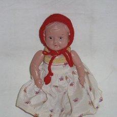 Muñecas Celuloide: MUÑECA DE CELULOSA ARTICULADA. CIRCA 1940. 20 CM ALTO. Lote 39694501