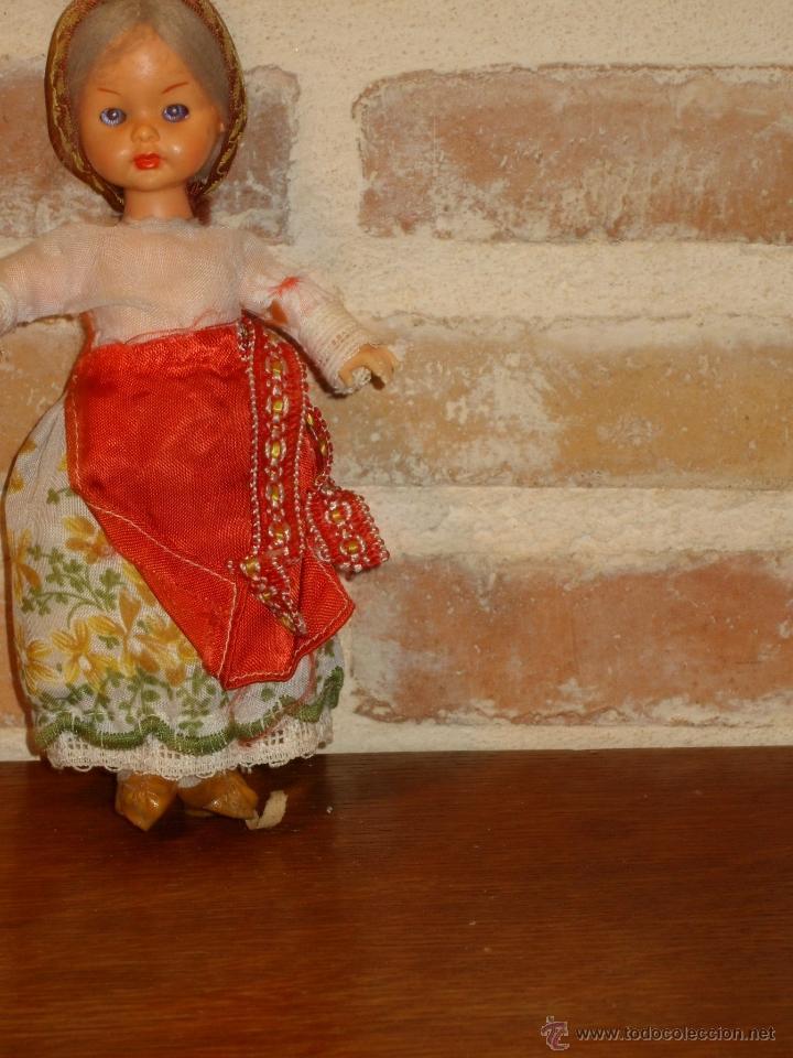 Muñecas Celuloide: PRECIOSA MUÑECA ANTIGUA DE CELULOIDE. CAMPESINA - Foto 2 - 41462386