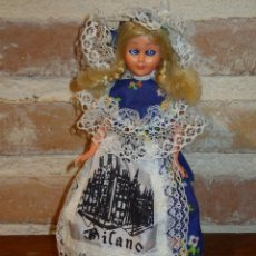 Muñecas Celuloide: ANTIGUA MUÑECA DE CELULOIDE.OJOS DURMIENTES. ITALIANA,. ESPECIAL COLECCIONISTAS. Lote 41462400
