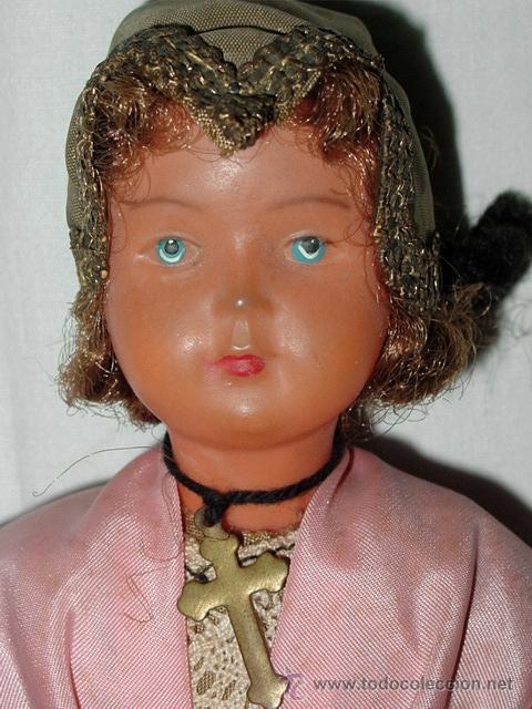 Muñecas Celuloide: MUÑECA DE CELULOIDE. SOCIETÉ NOBEL FRANÇAISE. CIRCA 1930/40 - Foto 3 - 41655718