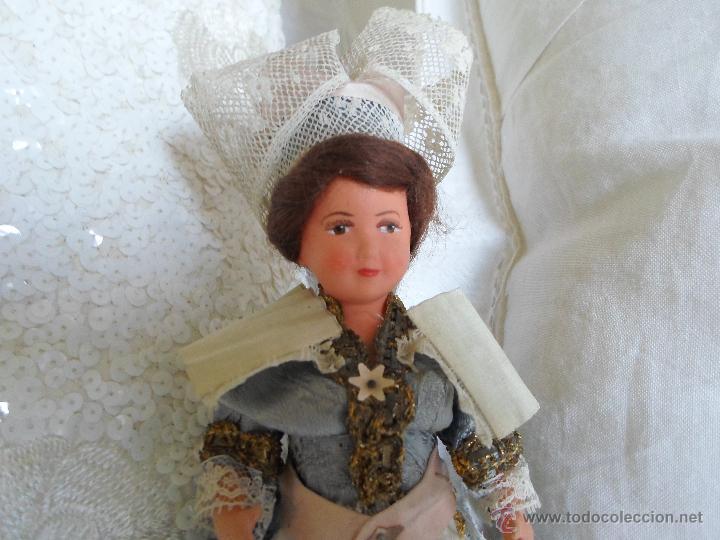 Muñecas Celuloide: bonita muñeca de celuloide francesa articulada por gomas - Foto 2 - 42804640