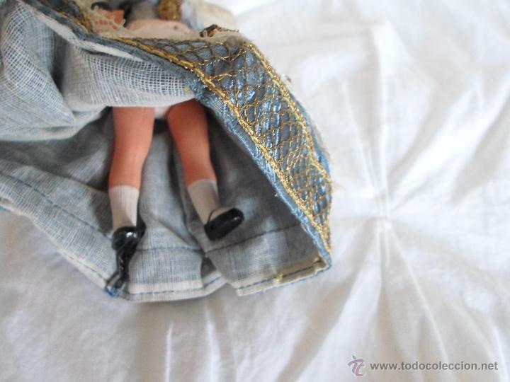 Muñecas Celuloide: bonita muñeca de celuloide francesa articulada por gomas - Foto 4 - 42804640