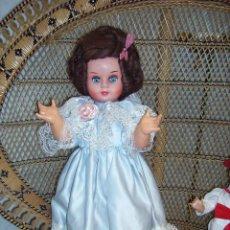 Muñecas Celuloide: PRECIOSA MUÑECA ANTIGUA DE TAMAÑO GRANDE DE CELULOIDE ATHENA. Lote 33313041