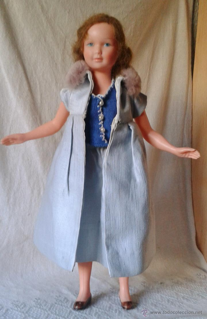 Aguila En La Espalda rara muñeca francesa de celuloide, snf petit co - sold