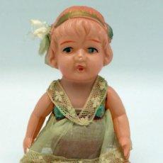 Muñecas Celuloide: MUÑECA JAPONESA CELULOIDE CON SU ROPA MADE IN JAPAN AÑOS 20 14 CM. Lote 45683005