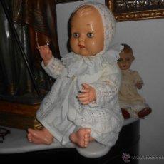 Muñecas Celuloide: MUÑECA ANTIGUA DE CELULOIDE DE GRAN TAMAÑO 70 CM.-. Lote 47414466