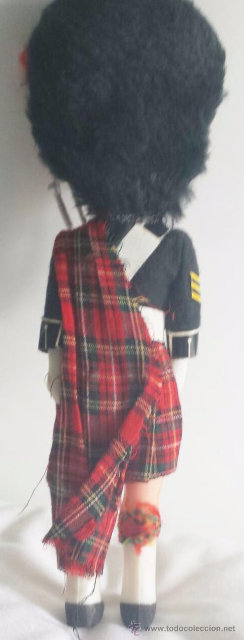 Muñecas Celuloide: Muñeco de celuloide o plástico traje regional escocés - Foto 2 - 51202932