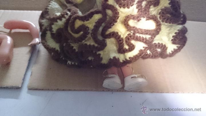 Muñecas Celuloide: MUÑECA ARTICULADA CELULOIDE 25 CM. PARA RETAURAR - Foto 4 - 53139304