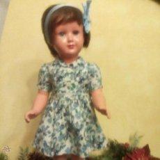 Muñecas Celuloide: ANTIGUA MUÑECA ALEMANA TORTUGA Nº 53 EN RHODOID 52CMS. Lote 53357461