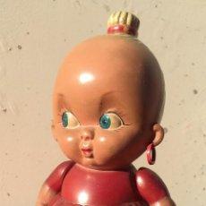 Muñecas Celuloide: PRECIOSA MUÑECA CELULOIDE DE LA MARCA AP FRANCIA NIÑA DECORACION MODA INFANTIL (60). Lote 53854763