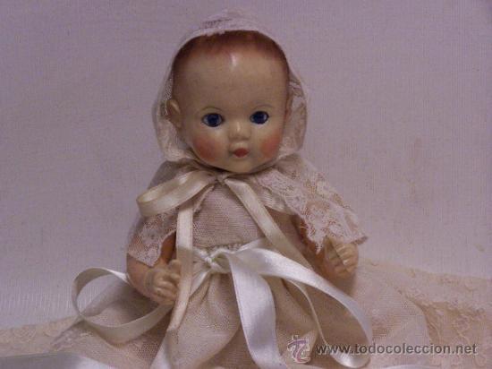 Muñecas Celuloide: Muñeco de celuloide inglés de los años 50. En la espalda lleva impres0, Made in Inglan Altura: 25 - Foto 4 - 54572459