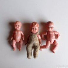 Muñecas Celuloide: LOTE DE PEQUEÑAS MUÑECAS ANTIGUAS. ALEMANIA 1930 – 1940. Lote 56257910