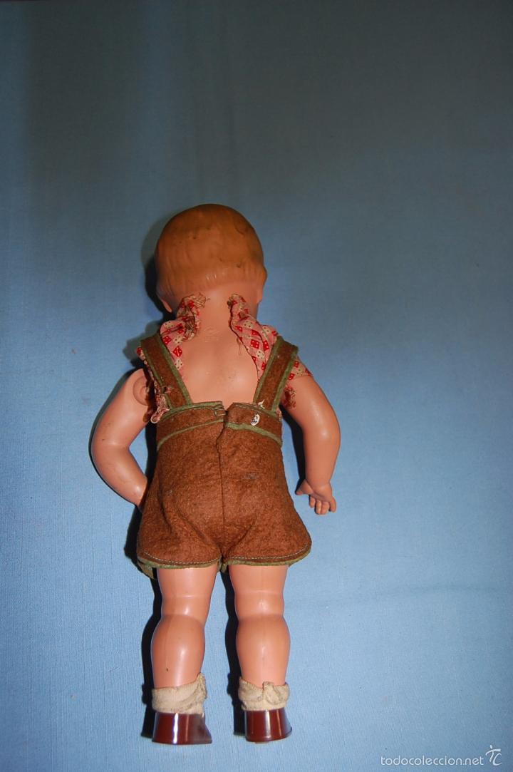 Muñecas Celuloide: MUÑECO ALEMAN CON MARCA TORTUGA EN EL DORSO - Foto 5 - 56344592