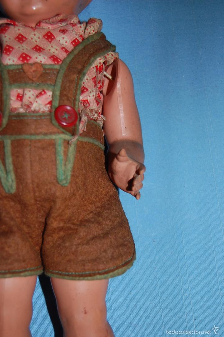 Muñecas Celuloide: MUÑECO ALEMAN CON MARCA TORTUGA EN EL DORSO - Foto 6 - 56344592