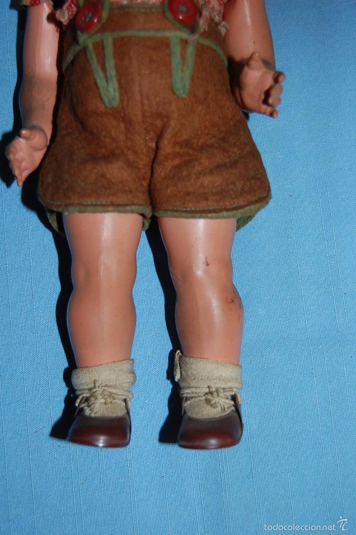 Muñecas Celuloide: MUÑECO ALEMAN CON MARCA TORTUGA EN EL DORSO - Foto 7 - 56344592