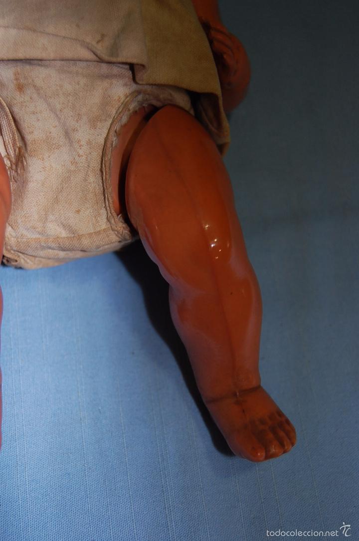 Muñecas Celuloide: MUÑECA CELULOIDE ALEMANA SCHUTZ - MARCA TORTUGA - - Foto 6 - 56344945