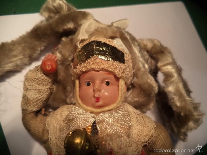 Muñecas Celuloide: MUÑECO TRAJE TIPICO. CELULOIDE Y MADERA - Foto 3 - 188547626