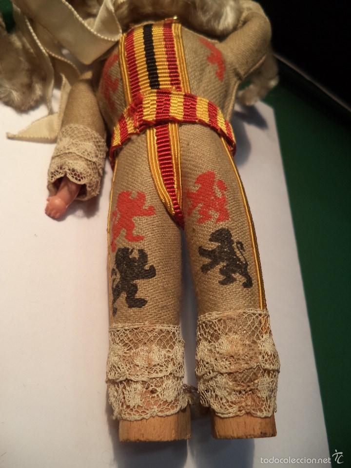 Muñecas Celuloide: MUÑECO TRAJE TIPICO. CELULOIDE Y MADERA - Foto 5 - 188547626