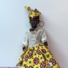 Muñecas Celuloide: ANTIGUA MUÑECA DE CELULOIDE DE MARTINIQUE - MARTINICA - FRANCESA - TODO ORIGINAL . Lote 59181350