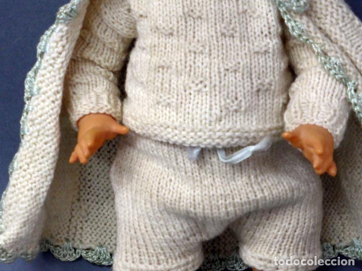 Muñecas Celuloide: Bebé francés celuloide Petitcollin Baigneur años 30 marca espalda France 32 1/2 ojo cristal 32 cm - Foto 3 - 67268005