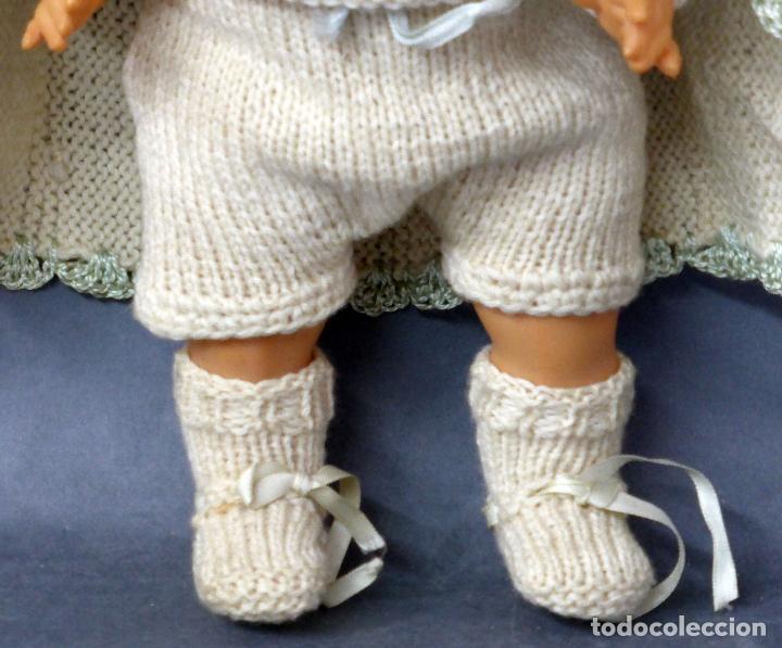 Muñecas Celuloide: Bebé francés celuloide Petitcollin Baigneur años 30 marca espalda France 32 1/2 ojo cristal 32 cm - Foto 4 - 67268005