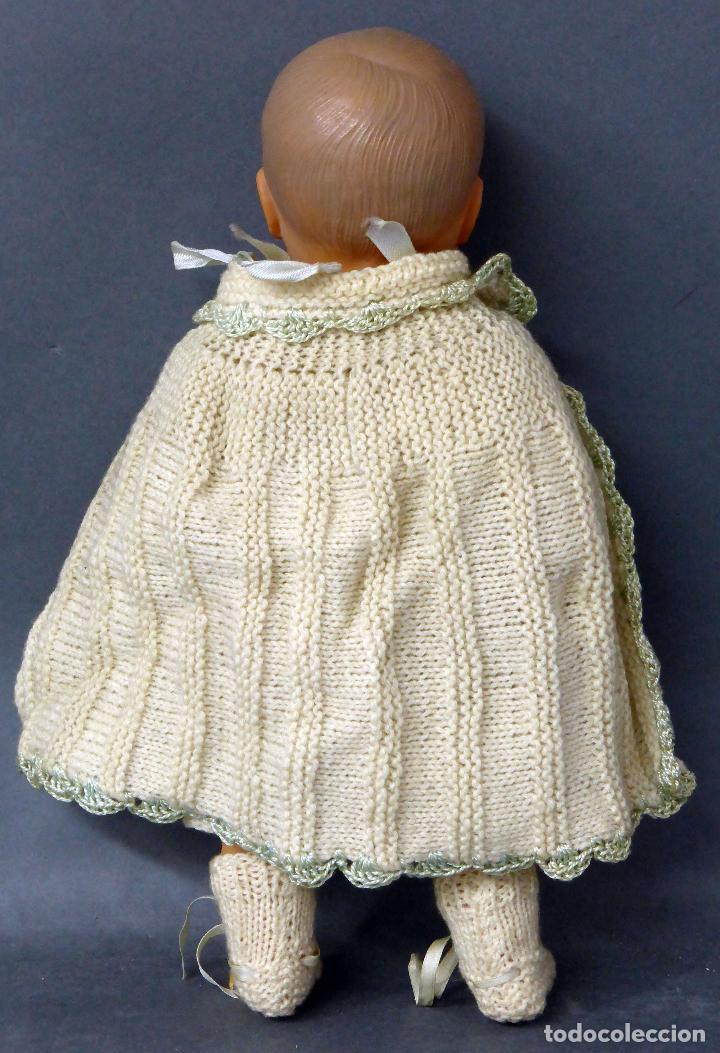 Muñecas Celuloide: Bebé francés celuloide Petitcollin Baigneur años 30 marca espalda France 32 1/2 ojo cristal 32 cm - Foto 5 - 67268005