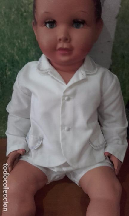 Muñecas Celuloide: Antiguo muñeco de celuloide, de 70 cm (años 50) - Foto 5 - 69049689