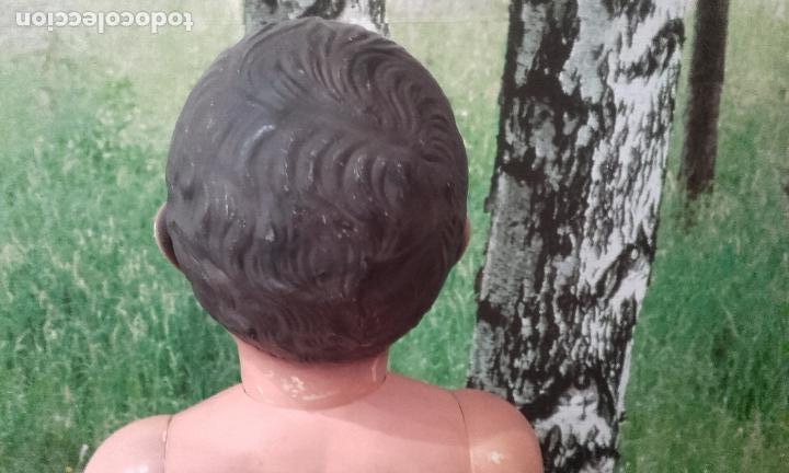 Muñecas Celuloide: Antiguo muñeco de celuloide, de 70 cm (años 50) - Foto 7 - 69049689