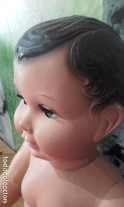 Muñecas Celuloide: Antiguo muñeco de celuloide, de 70 cm (años 50) - Foto 10 - 69049689