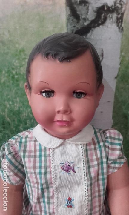 Muñecas Celuloide: Antiguo muñeco de celuloide (70 cm, años 50) - Foto 3 - 201524301