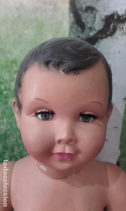 Muñecas Celuloide: Antiguo muñeco de celuloide (70 cm, años 50) - Foto 13 - 201524301