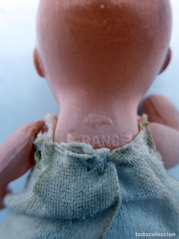 Muñecas Celuloide: Muñeco celuloide francés Petitcollin France marca 8 cm alto - Foto 3 - 70089217